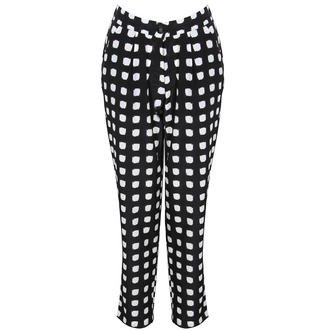 View Item Monochrome Square Polka Dot Trousers